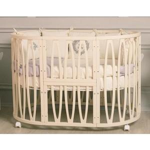 Кроватка Incanto Estel ACQUA 10 в 1 цвет Слоновая кость KR-0076/1 цена и фото