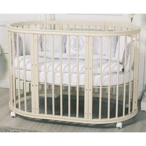 Кроватка Incanto Estel EXCLUSIVE 8 в1 цвет Слоновая кость ST-0046/1 кроватка трансформер incanto amelia 8 в 1 слоновая кость kr 0027 1
