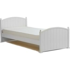 Кроватка Кубаньлесстрой Олимпия 1600х800 белый БИ 82 фото