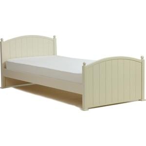 Кроватка Кубаньлесстрой Олимпия 1600х800 ваниль БИ 82