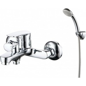 Смеситель для ванны Milardo Horizont с душем, хром (HORSB02M02)