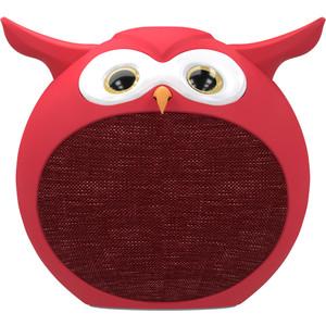 Портативная беспроводная колонка Ritmix ST-110BT Owl red