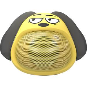 Портативная беспроводная колонка Ritmix ST-111BT Puppy yellow