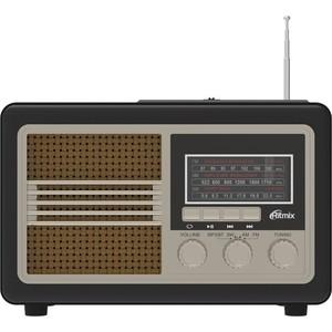 Портативный радиоприемник Ritmix RPR-070 gold цена и фото