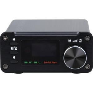 Фото - Усилитель для наушников S.M.S.L SA-50 Plus black звуковая карта creative sound blaster e1 усилитель для наушников