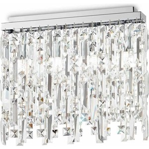 Потолочный светильник Ideal Lux Elisir PL4 Cromo потолочный светильник ideal lux elisir pl6 cromo