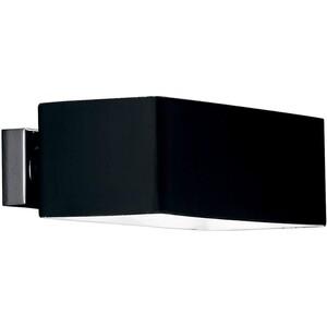 Настенный светильник Ideal Lux Box AP2 Nero