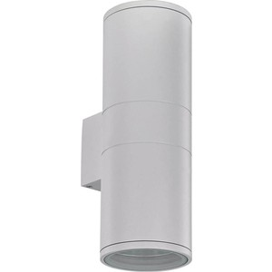 Уличный настенный светильник Ideal Lux Gun AP2 Big Bianco ideal lux бра ideal lux palio ap2 bianco