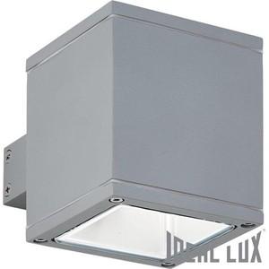Уличный настенный светильник Ideal Lux Snif Square AP1 Grigio
