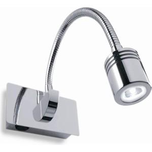 Светодиодный спот Ideal Lux Dynamo AP1 Cromo светодиодный спот ideal lux page ap1 square nero