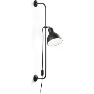 Спот Ideal Lux Shower AP1 Nero светодиодный спот ideal lux page ap1 square bianco