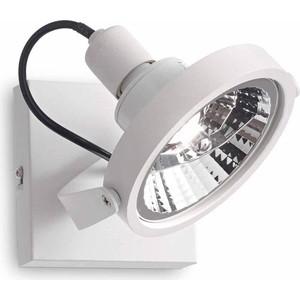 Спот Ideal Lux Glim PL1 Bianco уличный светильник ideal lux symphony symphony pl1 nero