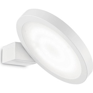 Бра Ideal Lux Flap AP1 Round Bianco бра ideal lux discovery cromo ap1