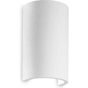 Настенный светильник Ideal Lux Flash Gesso AP1 Round