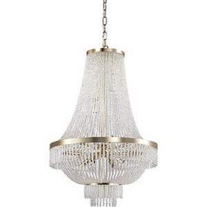 Подвесная люстра Ideal Lux Augustus SP12 Oro namat светильник ideal lux pasha ap3 oro