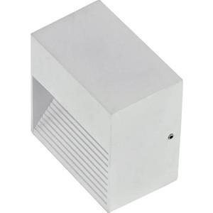 Уличный настенный светильник Ideal Lux Down AP1 Bianco настенный светодиодный светильник ideal lux vela ap1 alluminio
