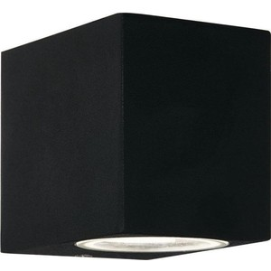 Уличный настенный светильник Ideal Lux Up AP1 Nero настенный светодиодный светильник ideal lux vela ap1 alluminio