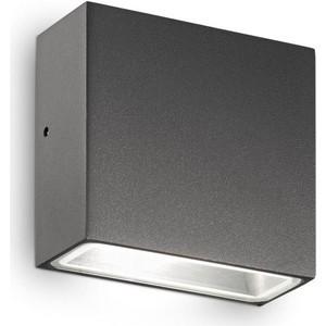 Уличный настенный светильник Ideal Lux Tetris-1 AP1 Antracite