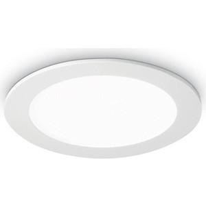 Встраиваемый светодиодный светильник Ideal Lux Groove 20W Round 4000K