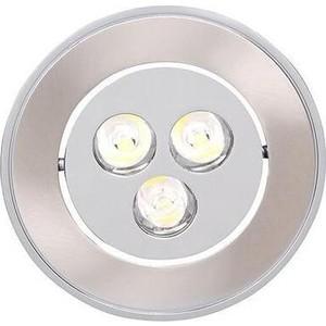 Встраиваемый светодиодный светильник Horoz 016-011-0003 встраиваемый светодиодный светильник horoz hl685l3match