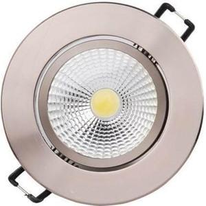 Встраиваемый светодиодный светильник Horoz 016-009-0003 встраиваемый светодиодный светильник horoz 6w 6400k белый 016 016 0006 hl687lg