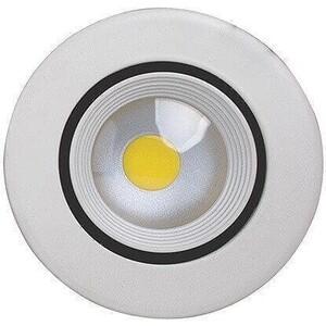 Встраиваемый светодиодный светильник Horoz 016-020-0008 встраиваемый светодиодный светильник horoz hl685l3match