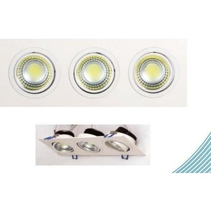 Встраиваемый светодиодный светильник Horoz 016-021-0015 встраиваемый светодиодный светильник horoz hl685l3match