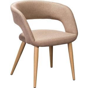 Кресло R-home Walter Сканди браун/натур кресло ресторация сканди 2