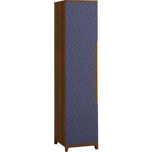 Шкаф универсальный R-home Сканди сапфир 1-дверный без полок
