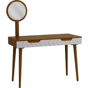 Зеркало R-home Для стола туалетного Сканди грей/сапфир