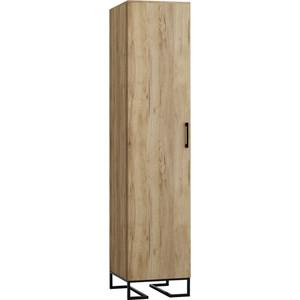 Шкаф 1-дверный R-home Loft дуб натуральный (без полок)