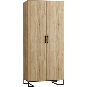 Шкаф 2-дверный R-home Loft дуб натуральный