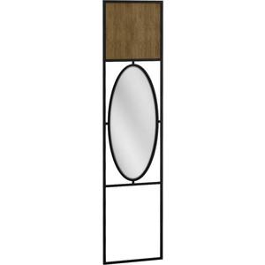 Панель R-home Loft дуб табак с зеркалом для прихожей фото
