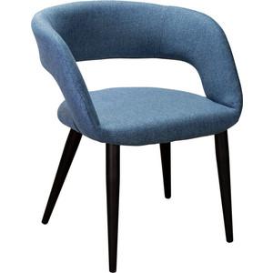 Кресло R-home Walter Сканди блю арт/черный кресло ресторация сканди 2