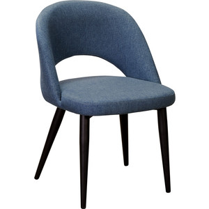 Кресло R-home Lars Сканди блю арт/черный