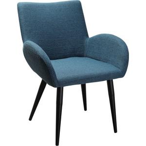 Кресло R-home Henrik Сканди блю арт/черный кресло ресторация сканди 2