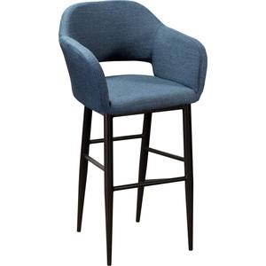 Кресло барное R-home Oscar Сканди блю арт/черный стеклохолст oscar паутинка 25г м2 50х1м белый арт os 25