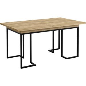 Стол раздвижной обеденный R-home Loft дуб натуральный 120/160x80x75