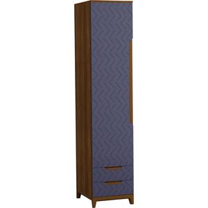 Шкаф универсальный R-home Сканди сапфир 50x45x230 с ящиками