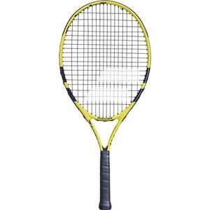 цена на Ракетка для большого тенниса Babolat Nadal 25 Gr0, 140249, детская, 9-10 лет, черно-желтый