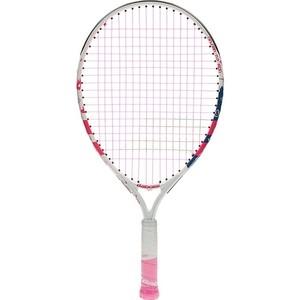 Ракетка для большого тенниса Babolat BFLY Gr000, 140243, детей 5-7 лет, бело-розово-синий