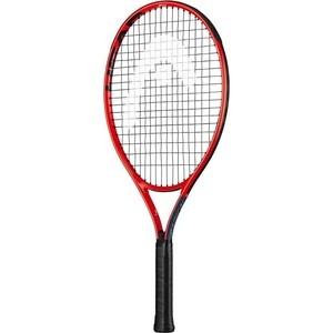 Ракетка для большого тенниса Head Radical 23 Gr06, 234629, для детей 6-8лет, красно-черная head ракетка для большого тенниса head graphene 360 speed lite 27
