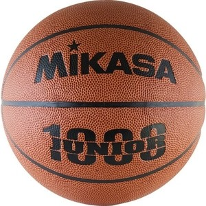 Мяч баскетбольный Mikasa BQJ1000, р. 5, корич-оранж-чер фото