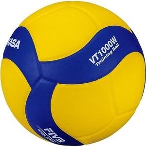 цена на Мяч волейбольный Mikasa VT1000W, р.5, сине-желтый