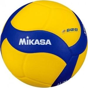Мяч волейбольный Mikasa VT500W, р.5, сине-желтый фото