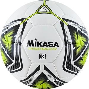 Мяч футбольный Mikasa REGATEADOR3-G, р.3, бело-черно-зеленый