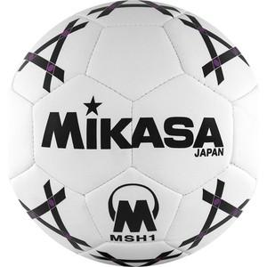 Мяч гандбольный Mikasa MSH 1, синт.кожа, р. 1, бело-черно-фиолетовый lacywear s 348 msh
