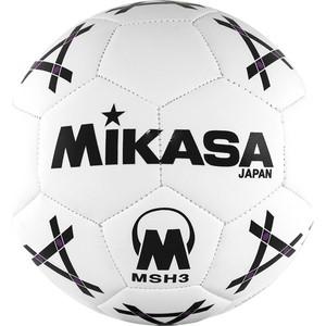 Мяч гандбольный Mikasa MSH 3, синт.кожа, р.3, бело-черно-фиолетовый lacywear s 348 msh