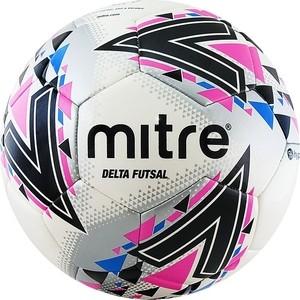 цена на Мяч футзальный Mitre Futsal Delta FIFA PRO HP A0028WWB, р.4,бел-чер-розовый