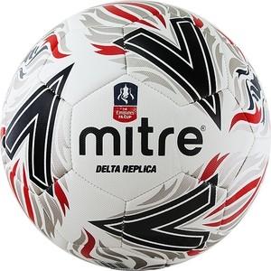 цена на Мяч футбольный Mitre Delta Replica AA0017WD6, р.5, бело-красно-черный